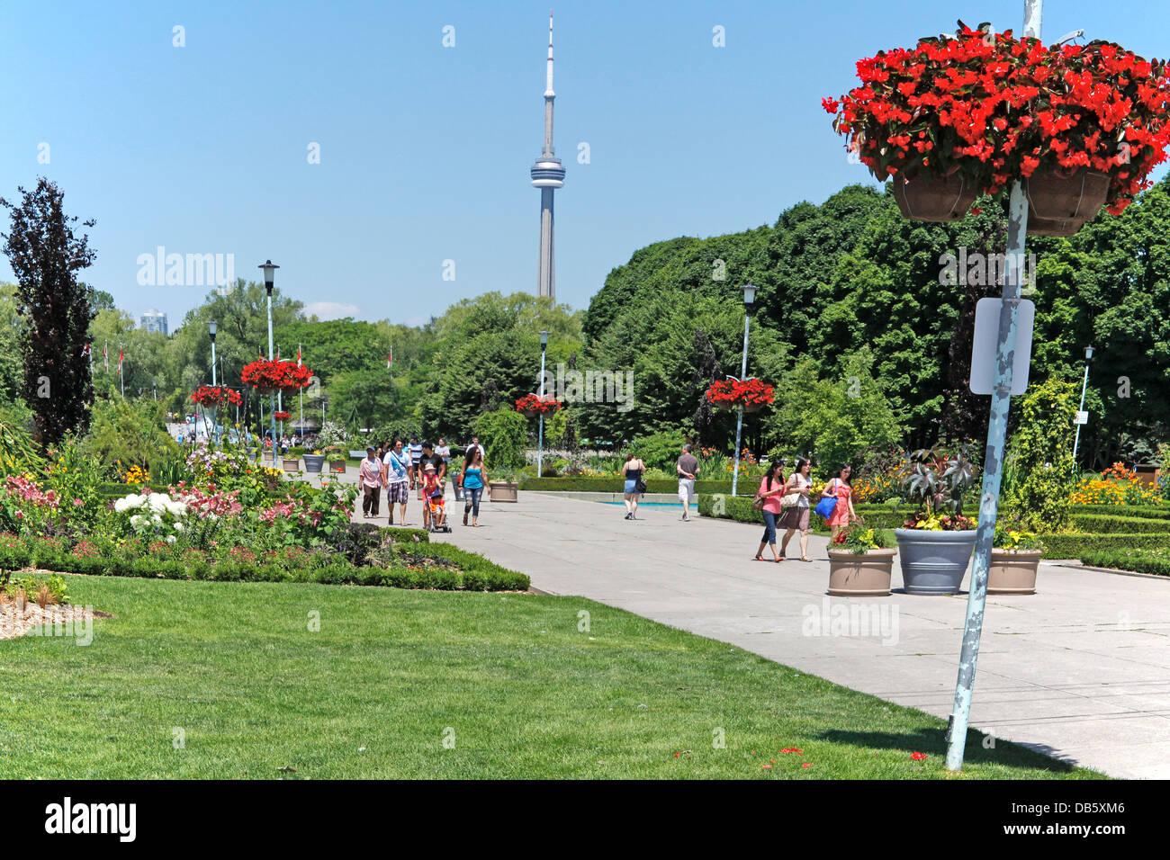 Toronto Ontario Canada Centre Island Park With Toronto