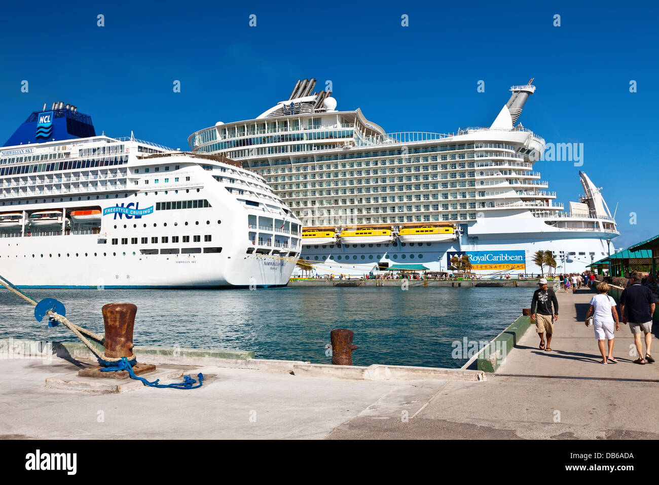 Nassau bahamas cruise port stock photo 58532246 alamy - Cruise port nassau bahamas ...