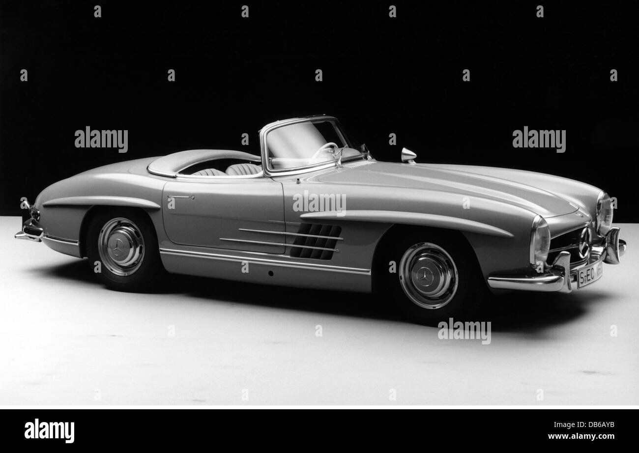 Beau Transport / Transportation, Cars, Types, Mercedes Benz 300 SL Roadster, 1958