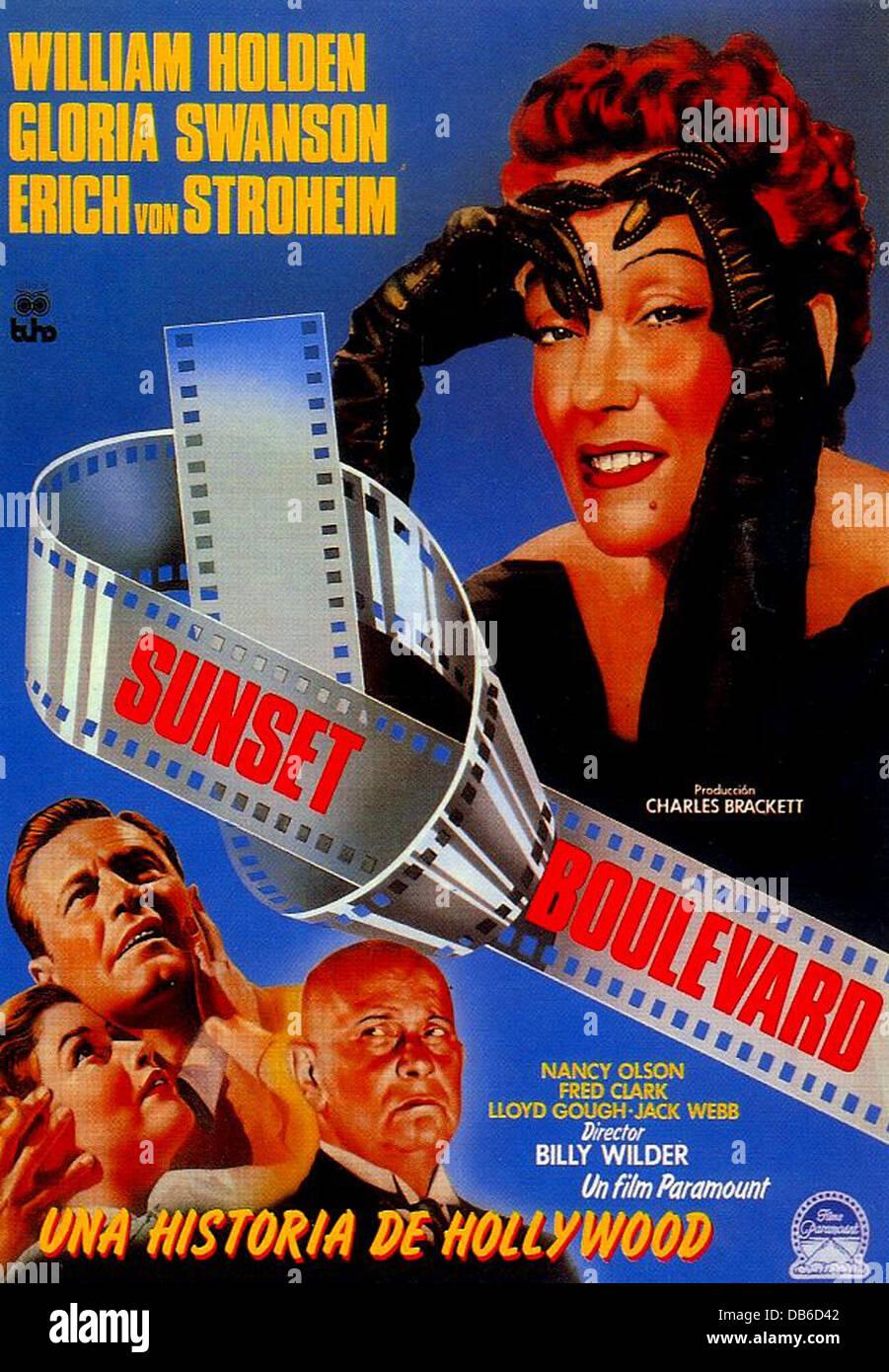 William Holden SUNSET BOULEVARD Param...