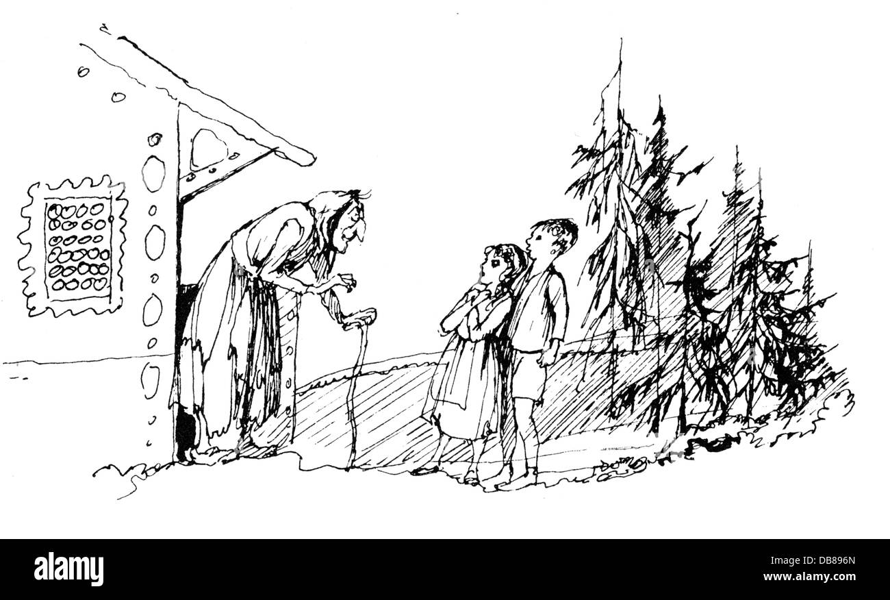 literary theory in hansel and gretel by brothers grimm Grimms' fairy tales analysis literary devices in grimms' fairy tales when gretel pushes the witch into the oven (the twelve brothers32.