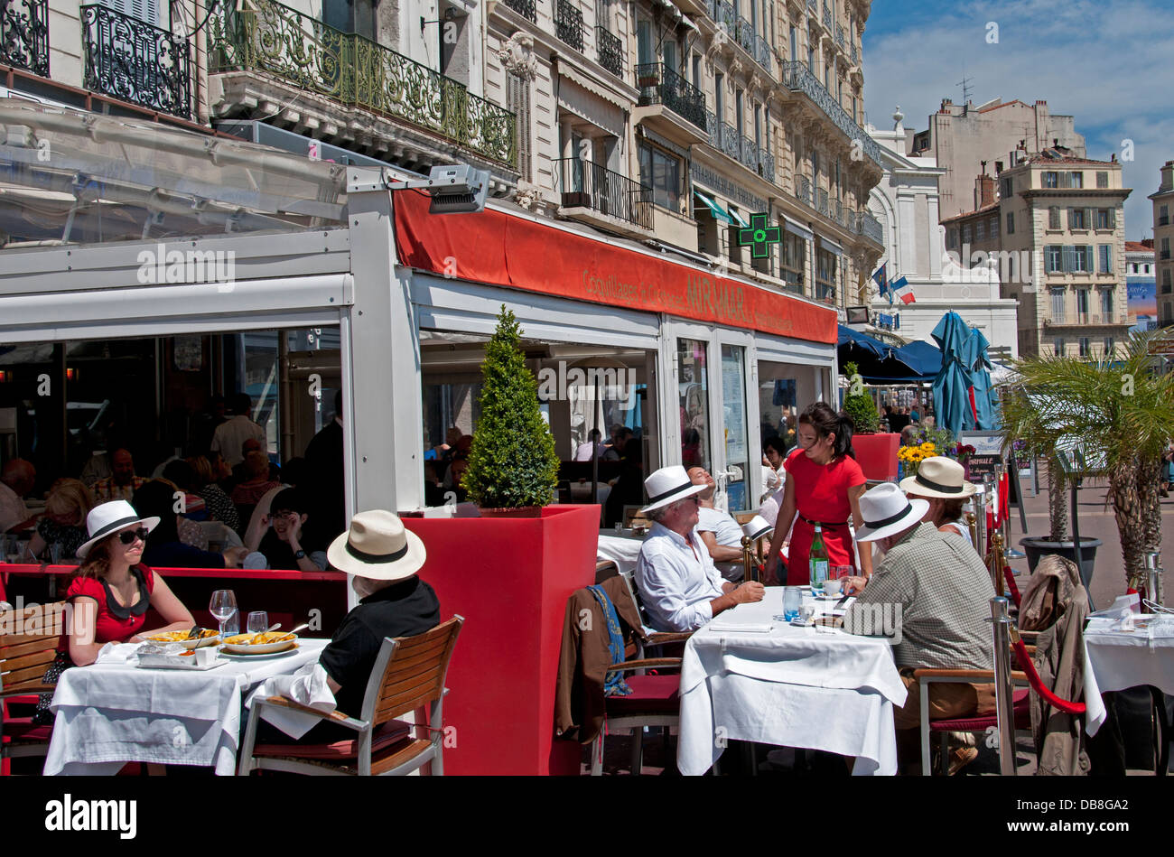 Miramar bouillabaisse fish soup restaurant cafe bar pub marseilles stock photo royalty free - Bouillabaisse marseille vieux port ...