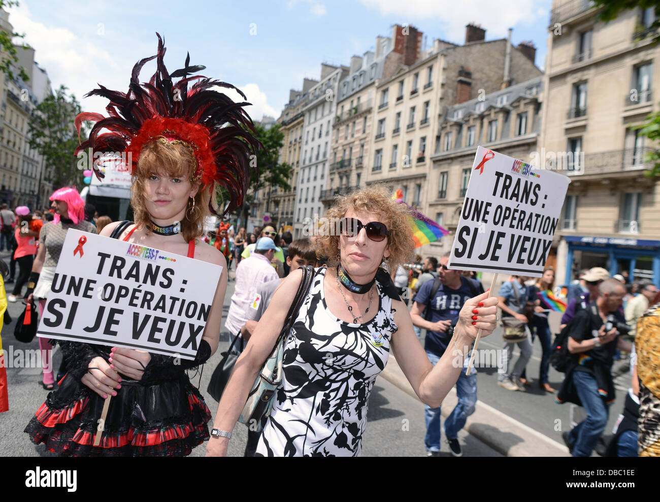 Gay Pride Day in French