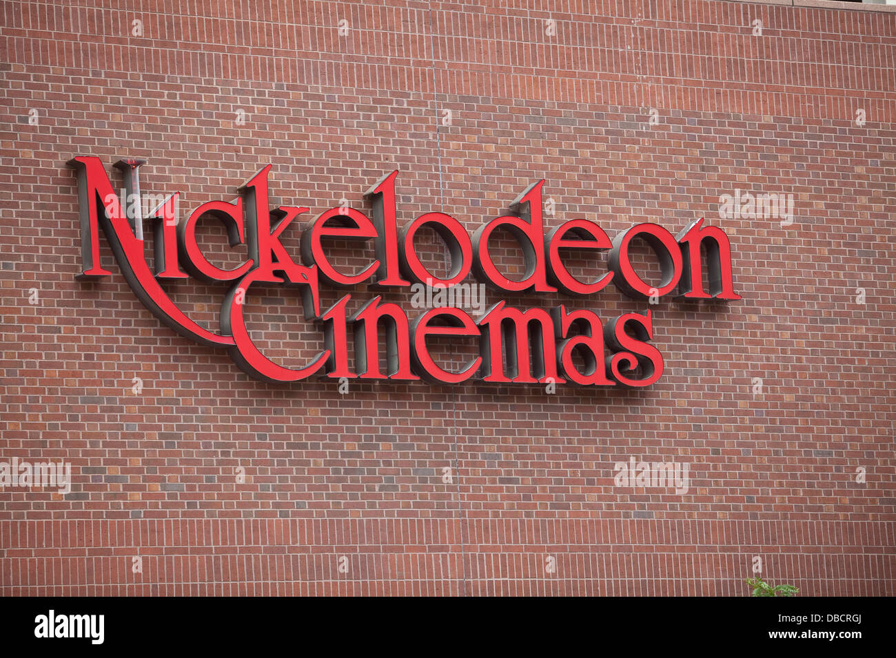 A Nickelodeon Cinemas Is Pictured In Portland, Maine