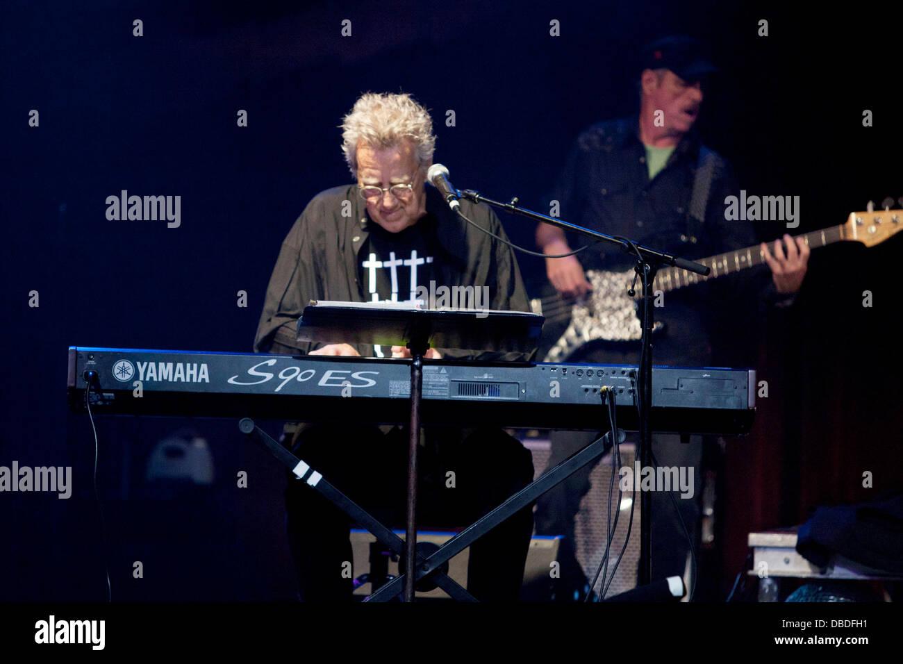 Ray Manzarek Former keyboardist for The Doors Ray Manzarek and Legendary blues guitarist Roy Rodgers perform & Ray Manzarek Former keyboardist for The Doors Ray Manzarek and ...