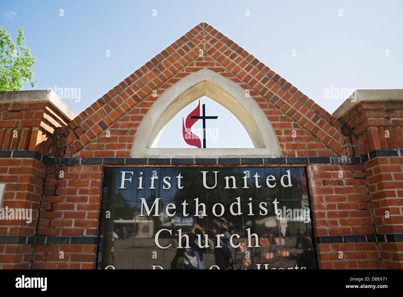 First united methodist church in gainesville florida stock photo first united methodist church in gainesville florida biocorpaavc Choice Image