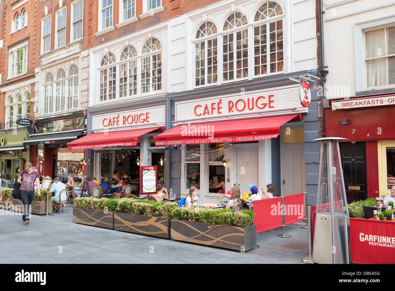 London Euston Cafe Rouge