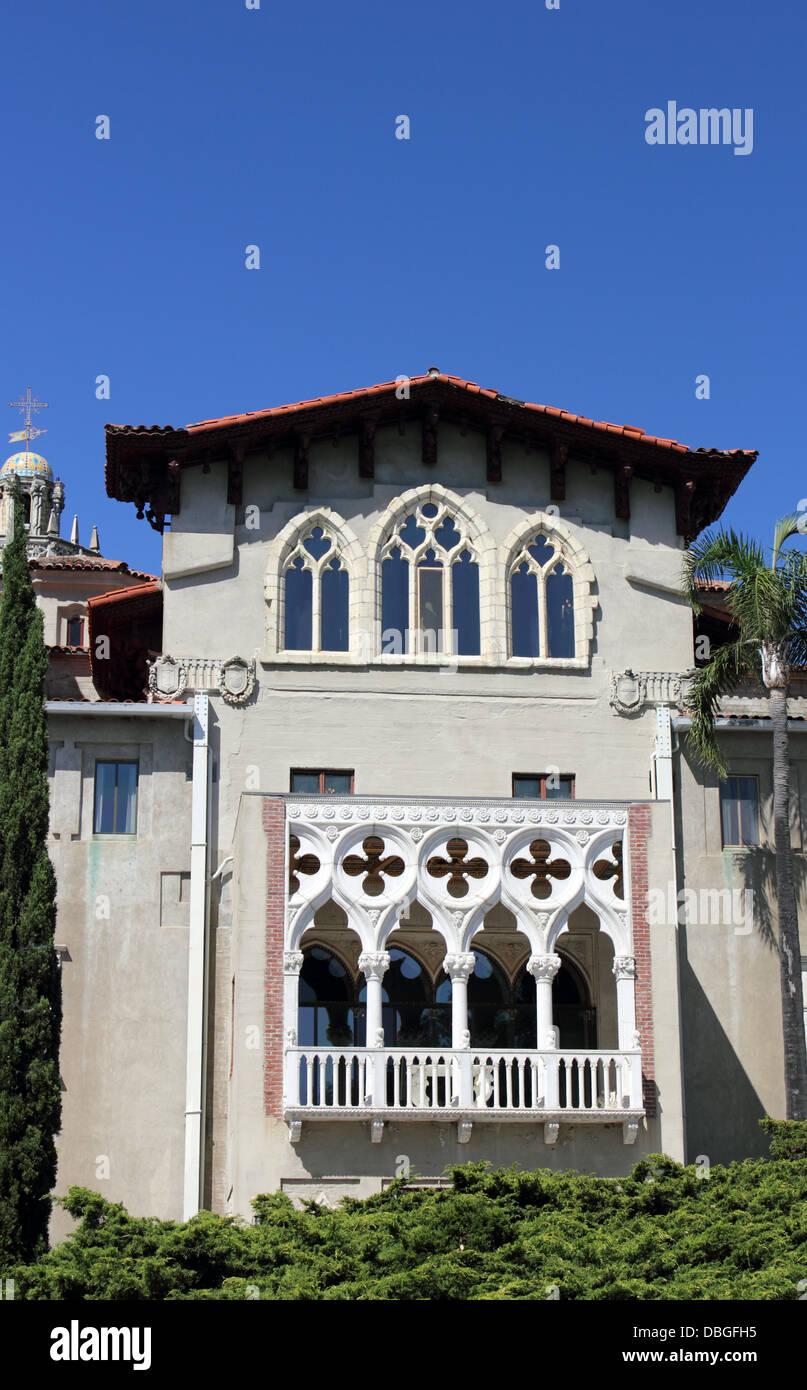 Venetian Gothic venetian gothic architecture, hearst castle, san simeon