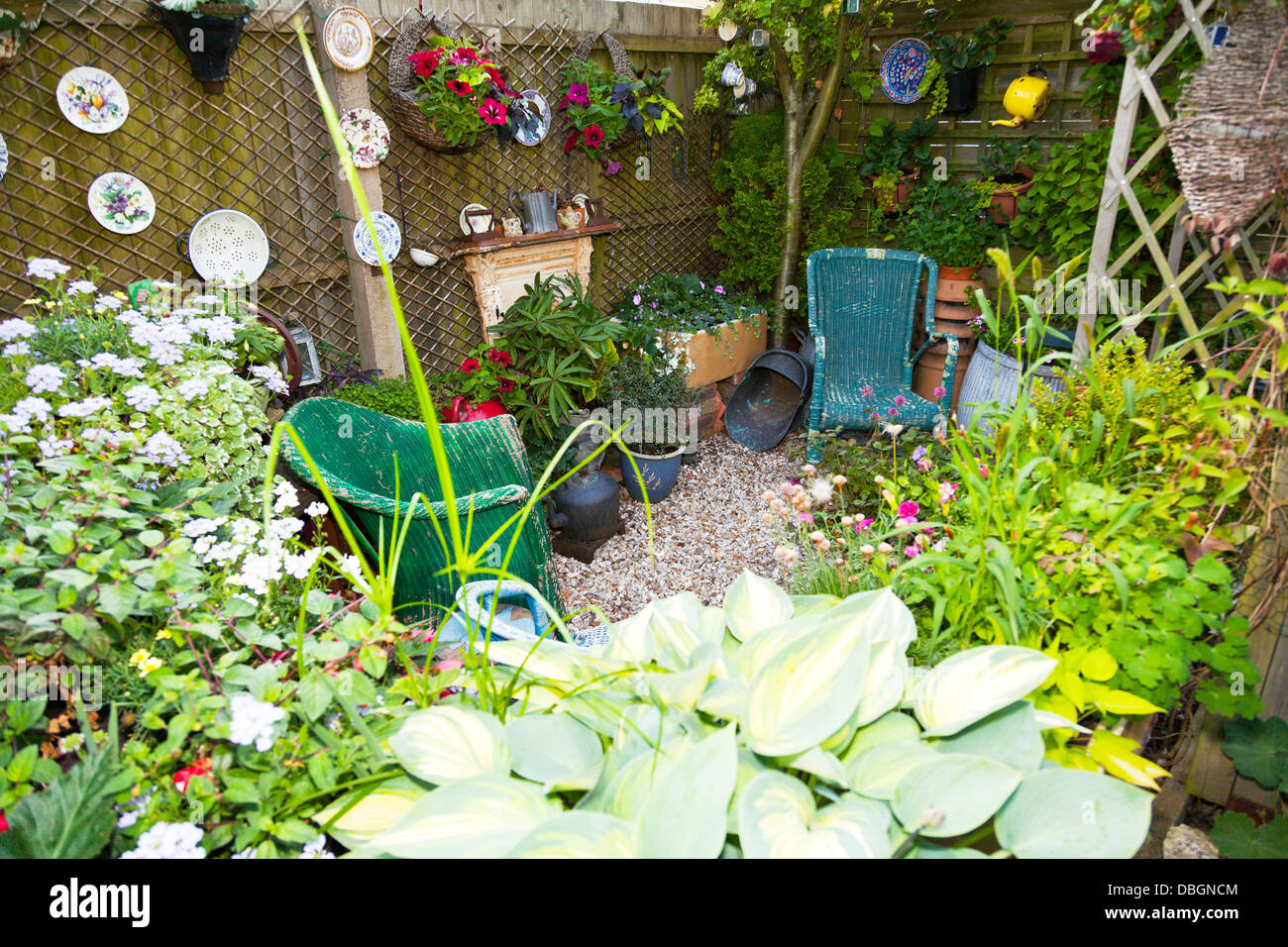 Typical english garden plants flowers planted around for Typical landscaping plants
