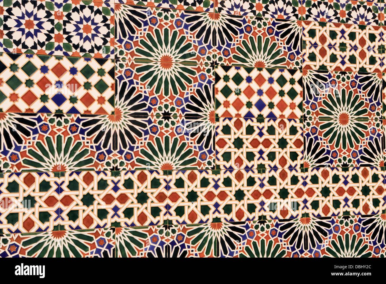 Ceramic wall tiles exterior public mural toledo spain stock ceramic wall tiles exterior public mural toledo spain doublecrazyfo Image collections
