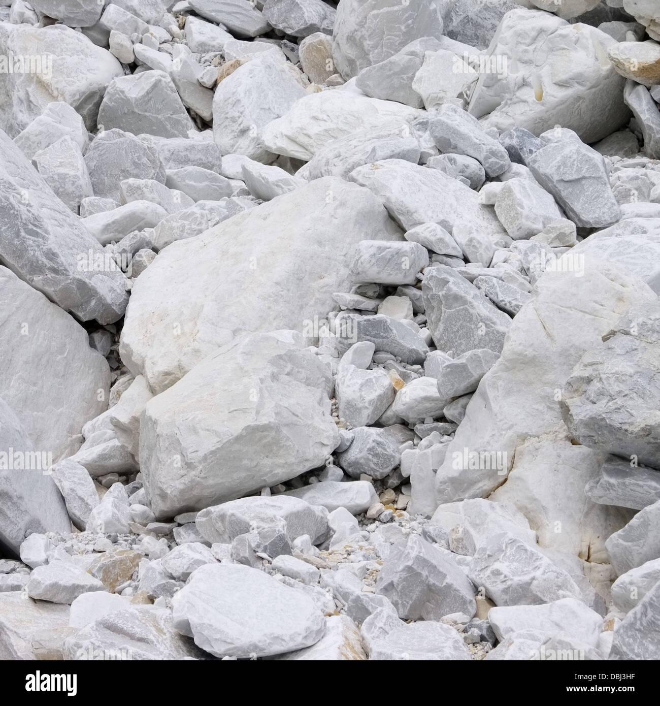 Carrara Marmor carrara marmor steinbruch carrara marble pit 29 stock photo