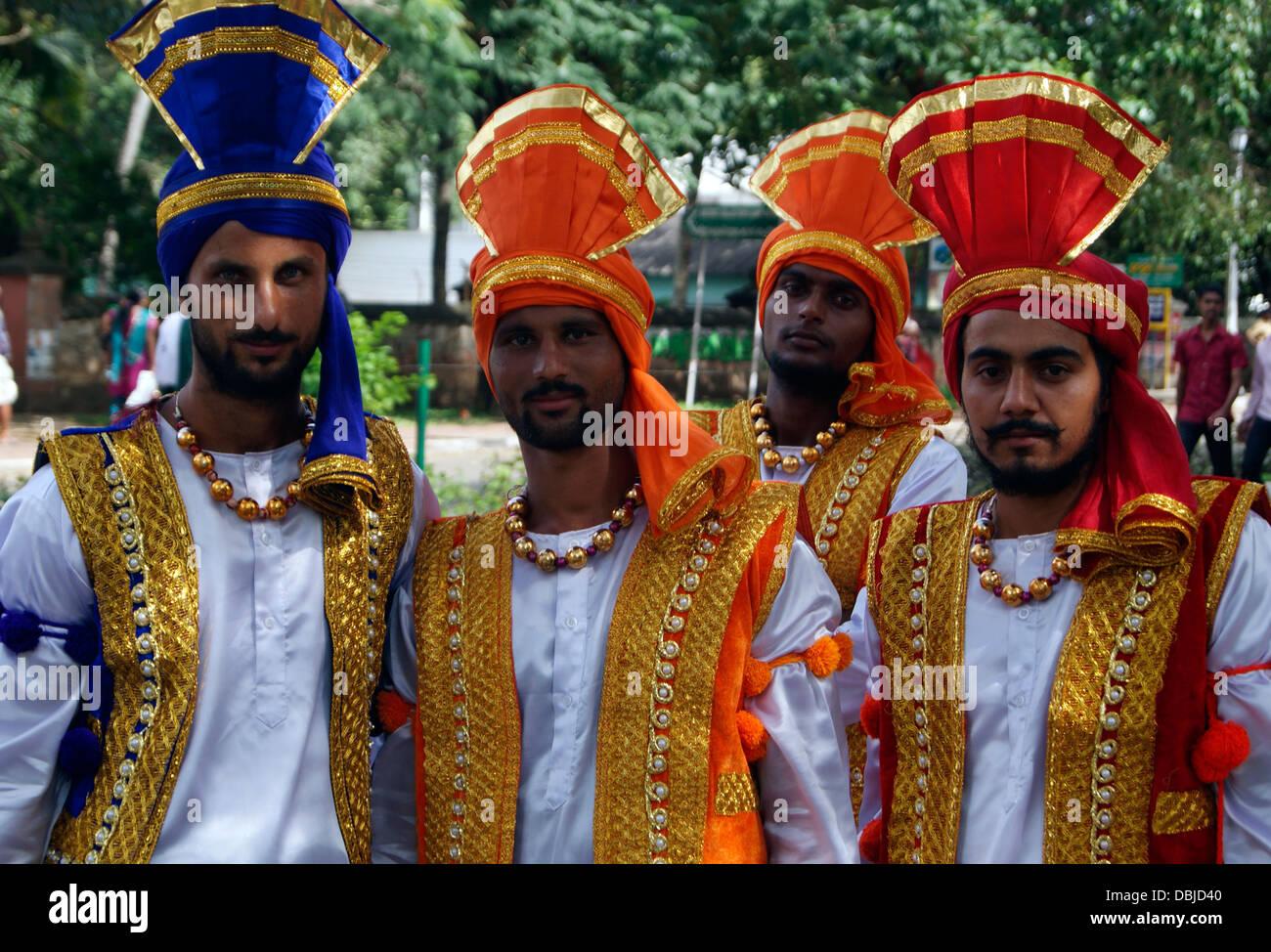 Punjabi traditional men Dress wearing India Stock Photo ...