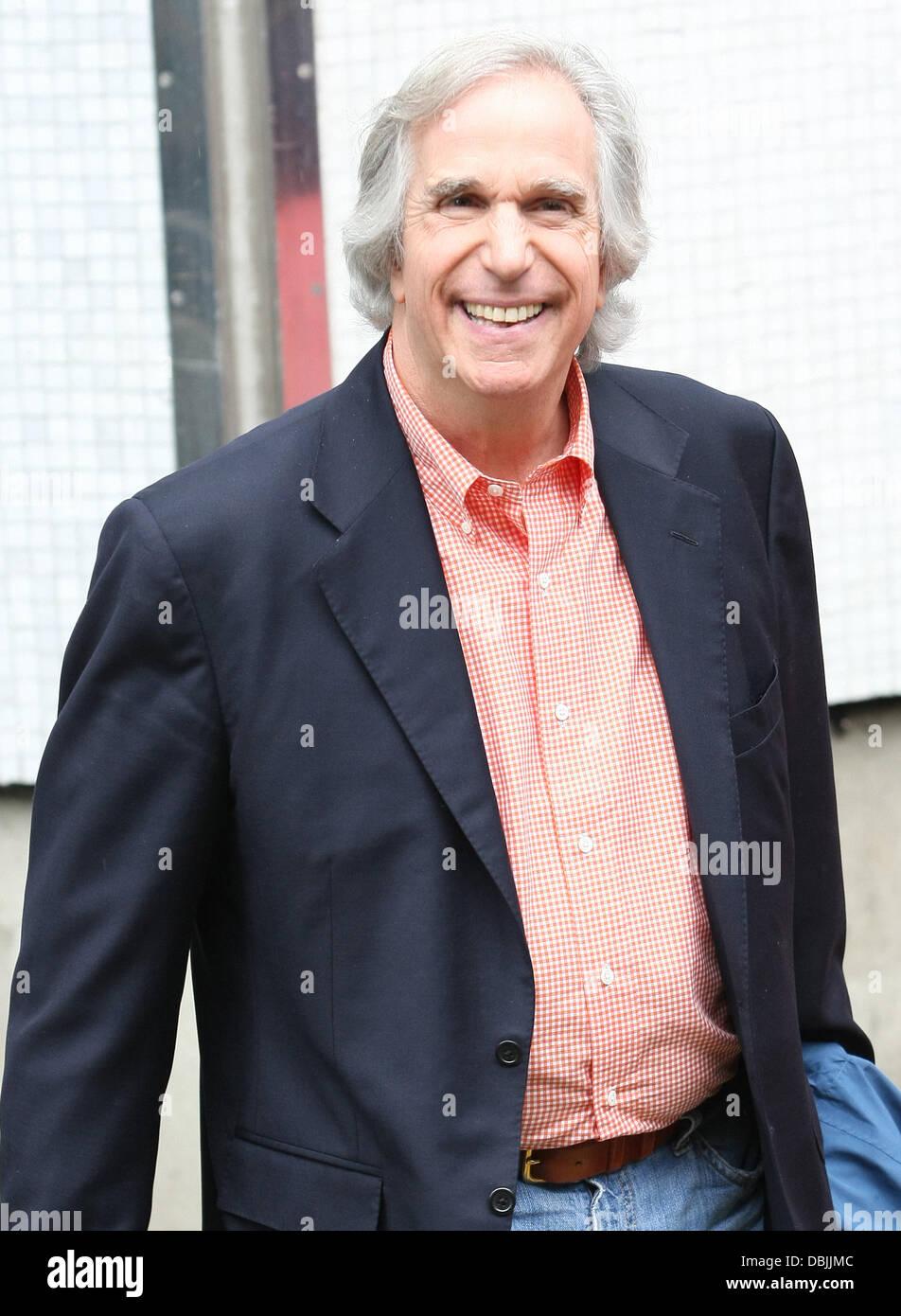 Henry winkler divorced - Henry Winkler Aka The Fonz Outside The Itv Studios London England 22 06 11