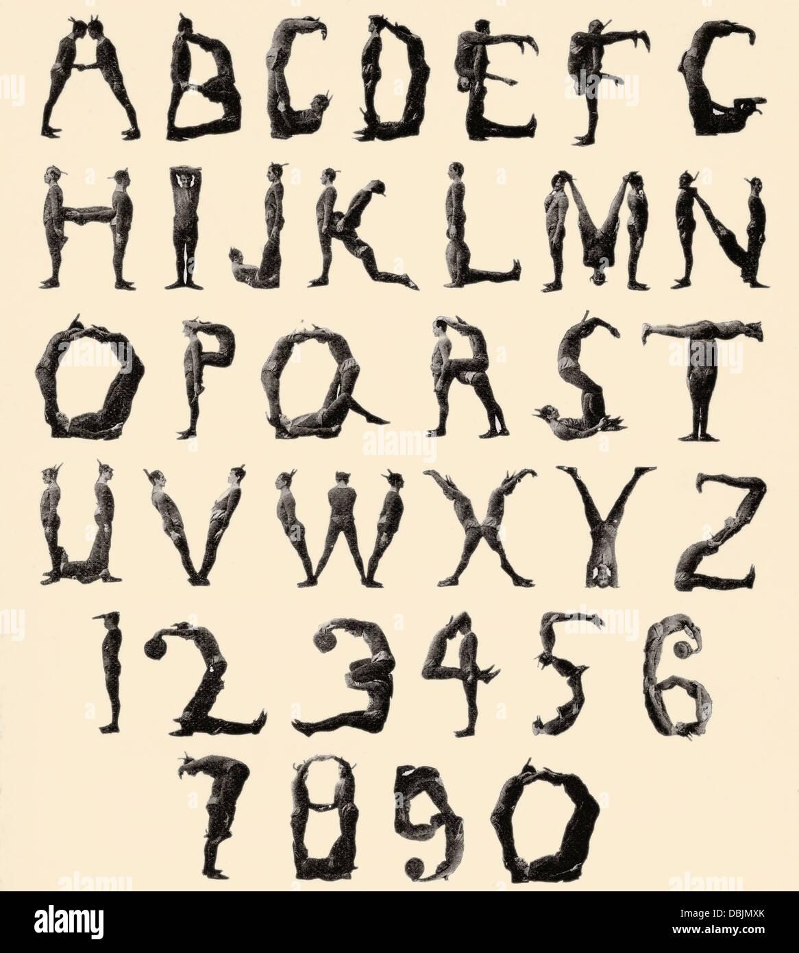 The three delevines satanic gambols human alphabet the three the three delevines satanic gambols human alphabet the three delevines were an 1897 music hall act biocorpaavc