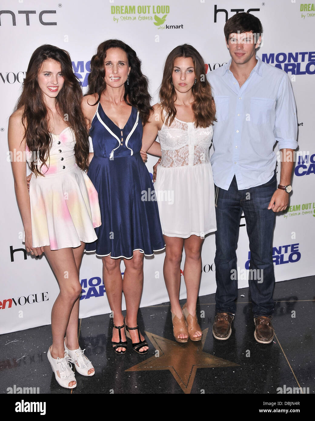 Andie Macdowell Rainey Qualley Sarah Qualley Justin