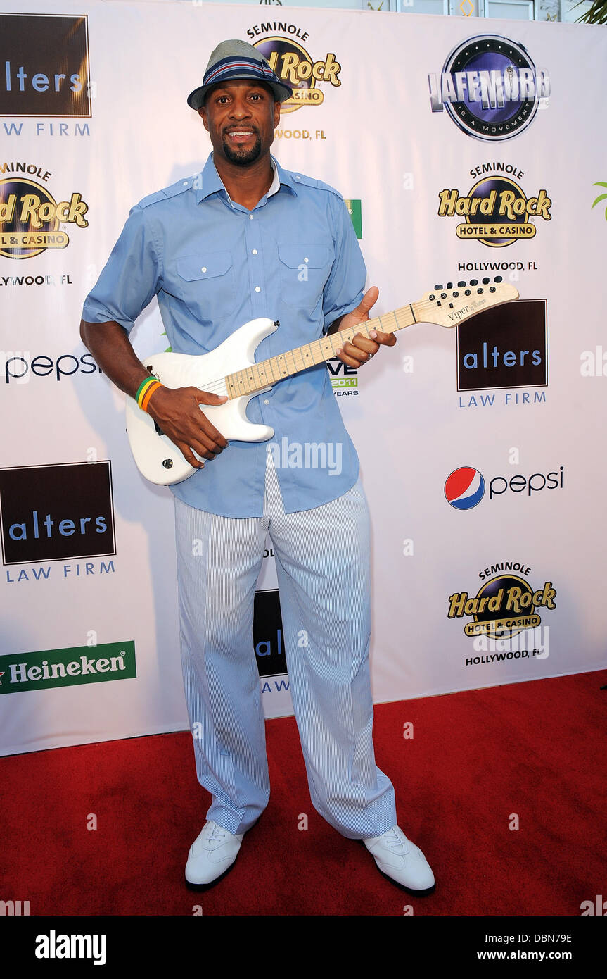 Alonzo Mourning Zo s Summer Groove Hard Rock Hotel & Casino edy