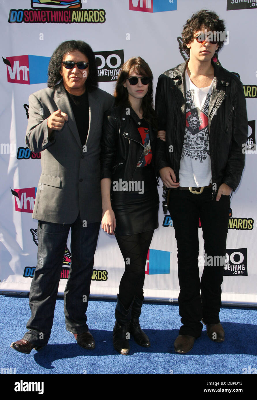 Gene Simmons, Alex Esso and Nick Simmons 2011 Do Something ...