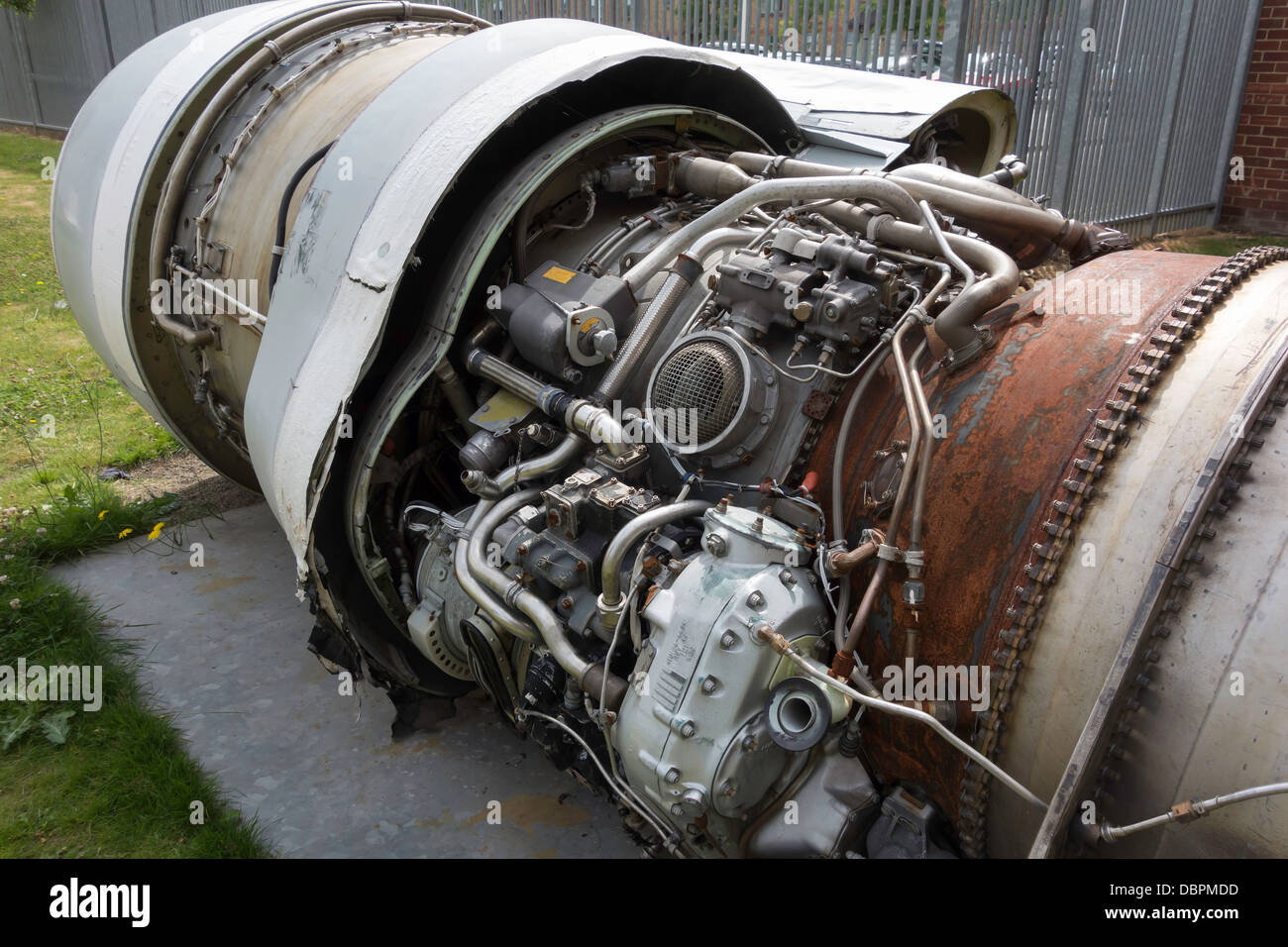 a pratt tf33 p9 aircraft engine part of an untitled stock photo royalty free