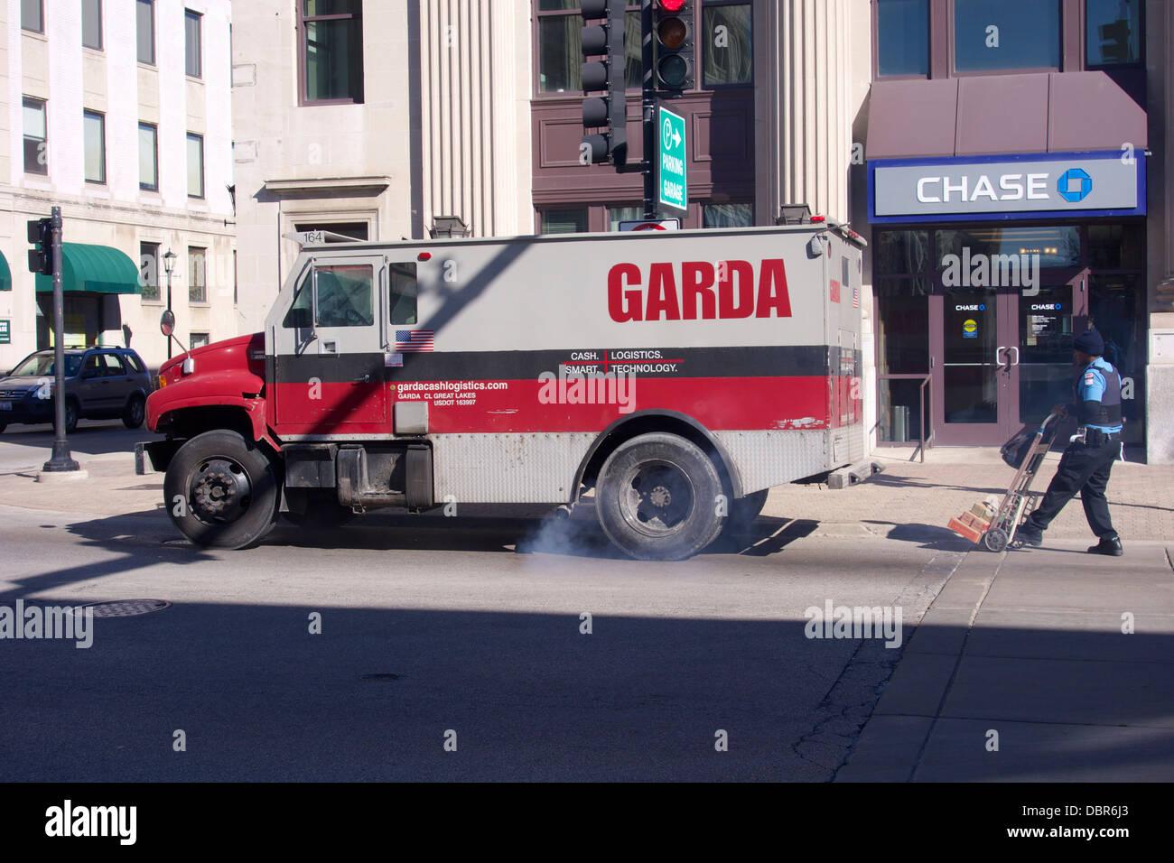 Garda armored truck Stock Photo, Royalty Free Image: 61251293 - Alamy