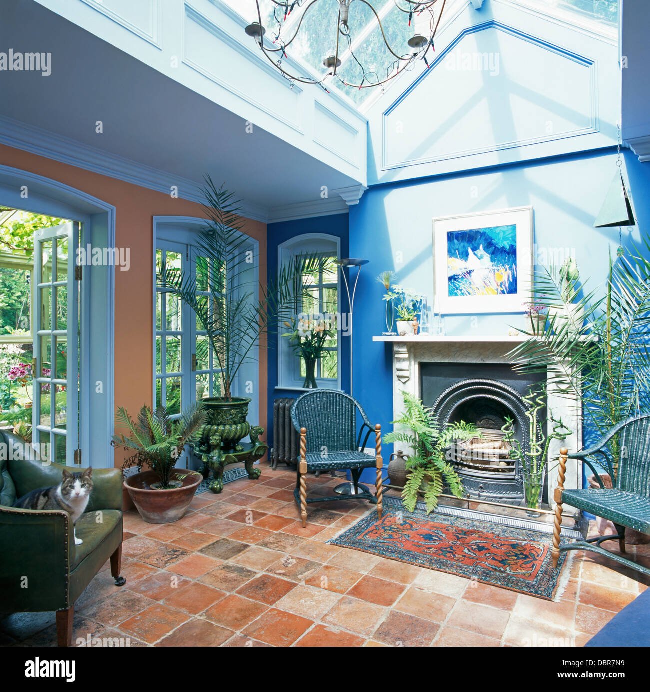 Conservatory living room