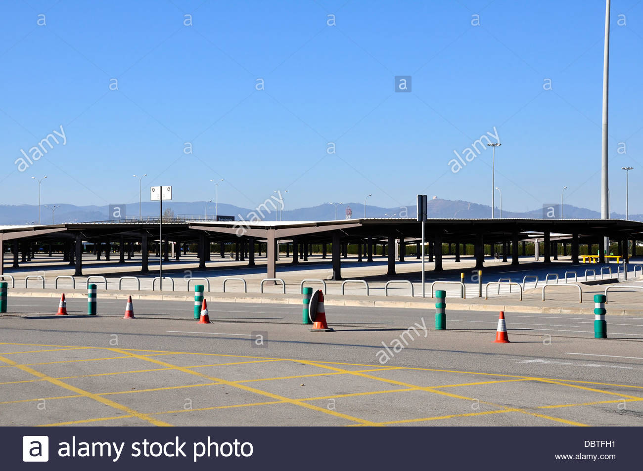 parking airport terminal 2 barcelona el prat de