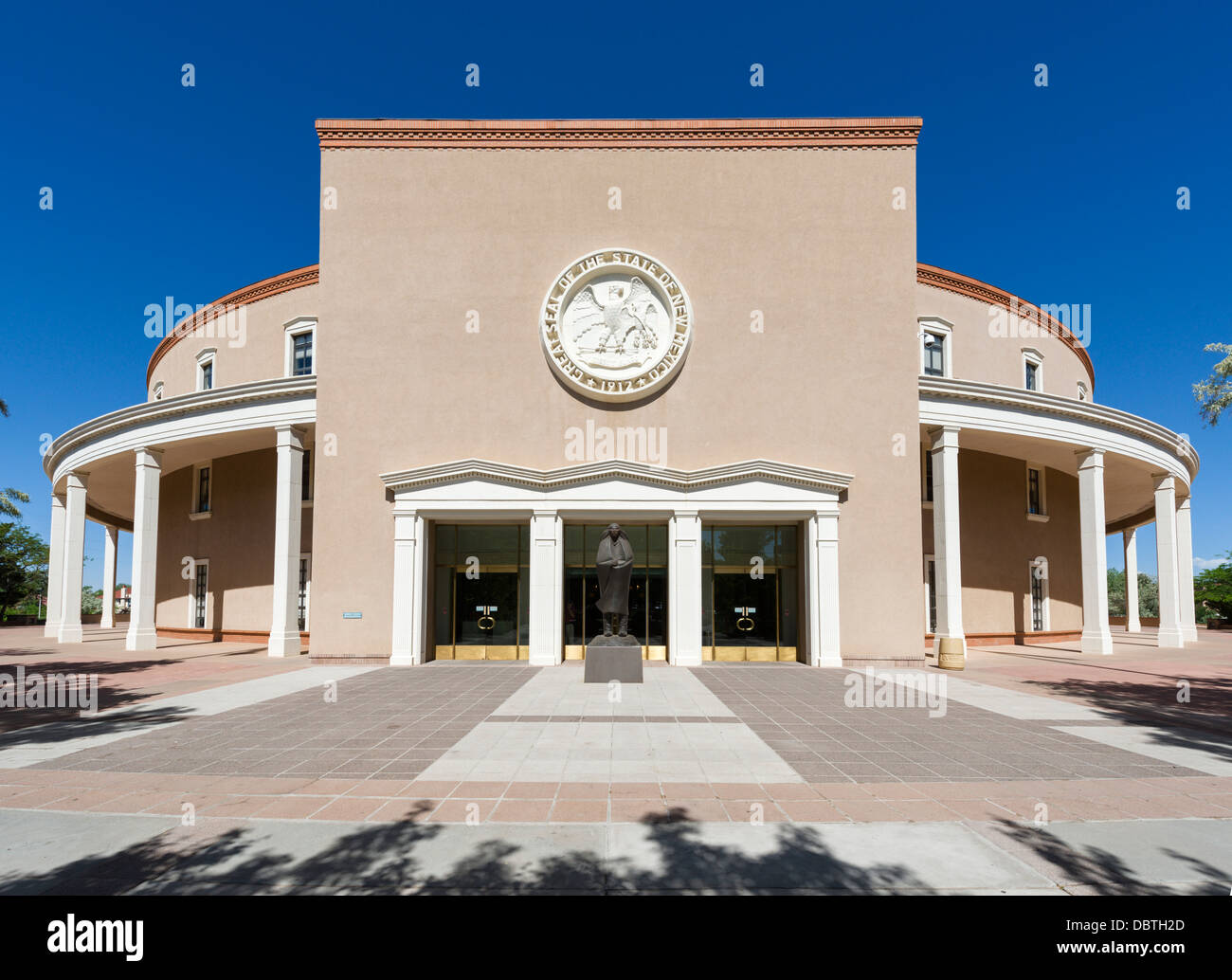 The New Mexico State Capitol building, Santa Fe, New