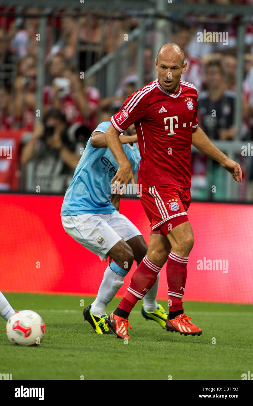 Arjen robben bayern august 1 2013 football soccer audi cup arjen robben bayern august 1 2013 football soccer audi cup 2013 final match between fc bayern munchen 2 1 manchester city at allianz arena in voltagebd Choice Image