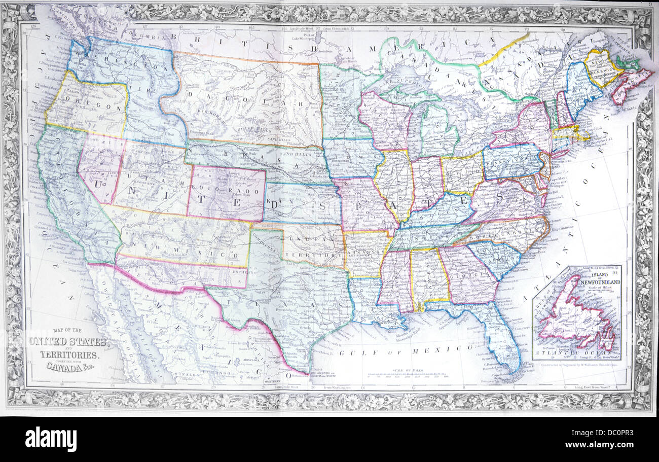 S S MAP OF UNITED STATES Stock Photo Royalty Free - 1867 us map