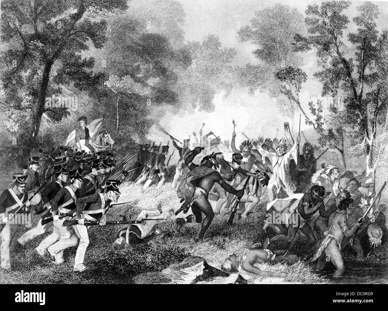 battle of tippecanoe and old tecumseh The battle of tippecanoe was fought between tecumseh's confederacyand the united states on november 7, 1811 james madison was thepresident when the battle.