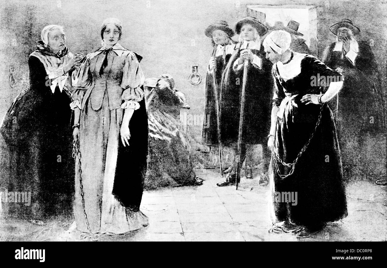 salem witch trials and mass hysteria The infamous salem witch trials began in january 1692 after a  scores of  individuals took advantage of the witch-hunt and the mass hysteria.