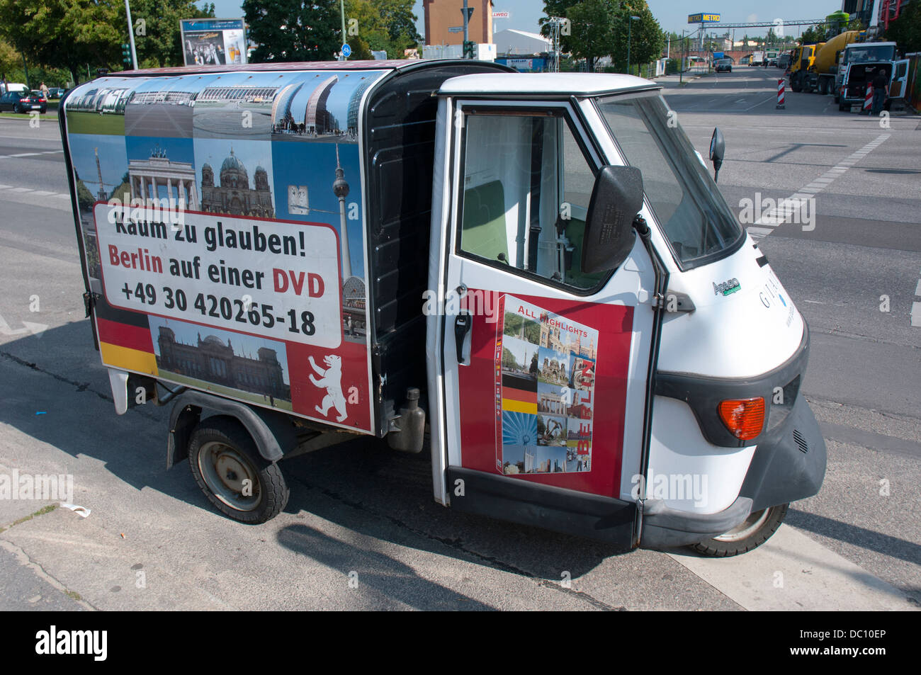 Tiny Truck Germany Berlin Friedrichshain Kreuzberg Tiny Truck Advertising