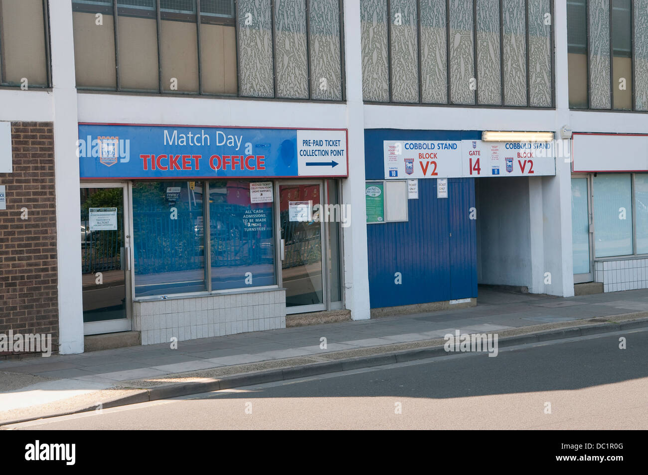 Ticket office of ipswich town football club portman road stadium stock photo royalty free - Cardiff city ticket office number ...