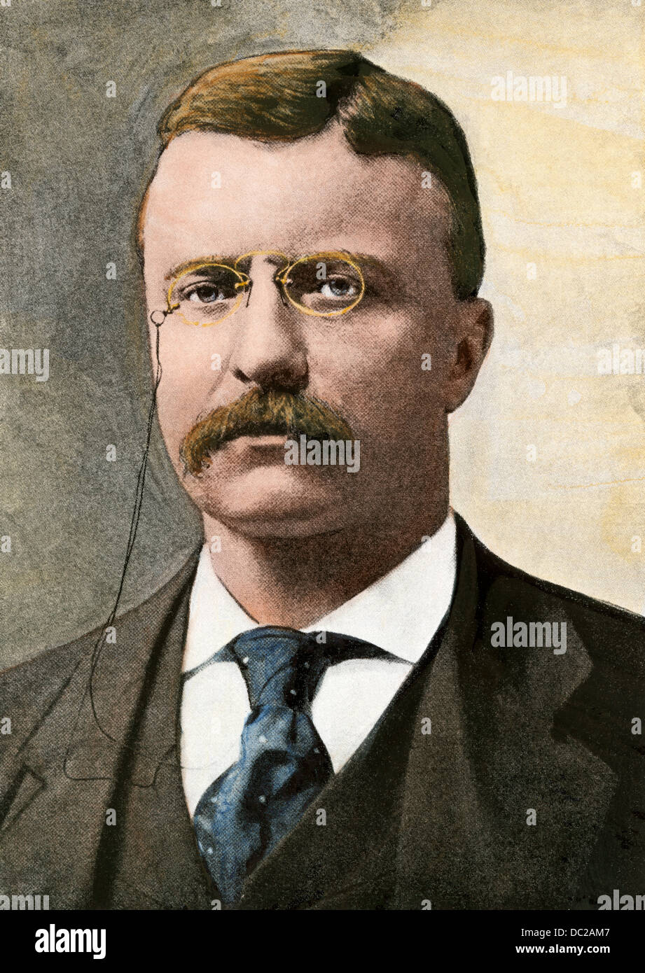 pince nez stock photos pince nez stock images alamy us president theodore roosevelt stock image