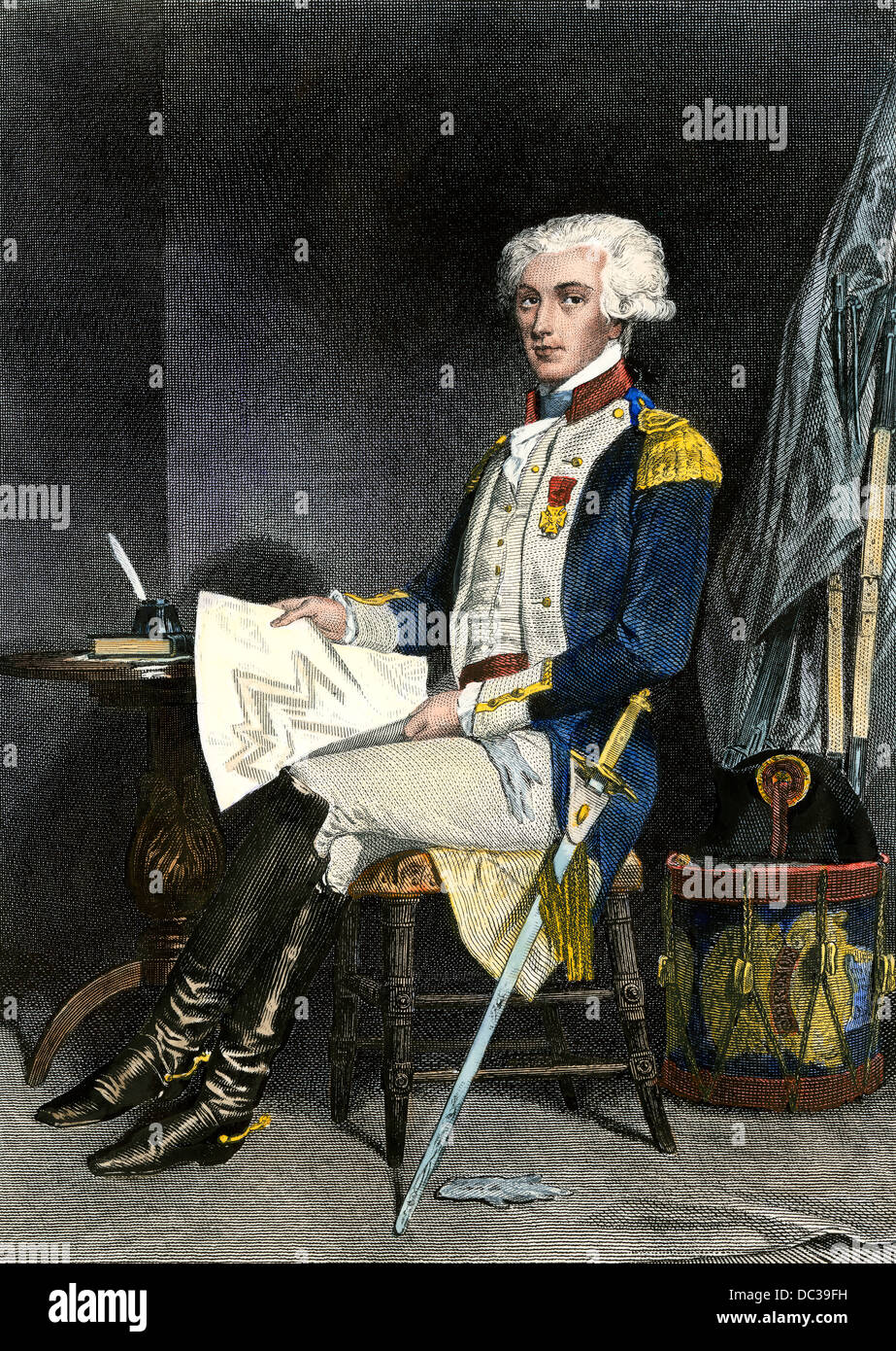 lafayette and the american revolution In the united states, lafayette's image, from the time of the american revolution, derived from his disinterestedness in fighting, without pay.