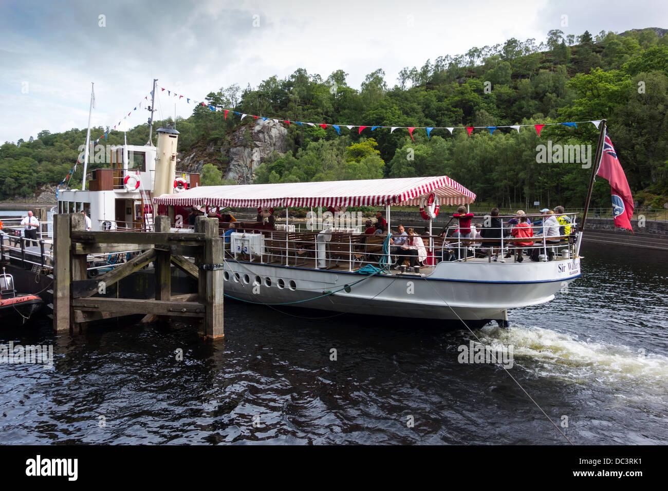 the Trossachs Pier on ...