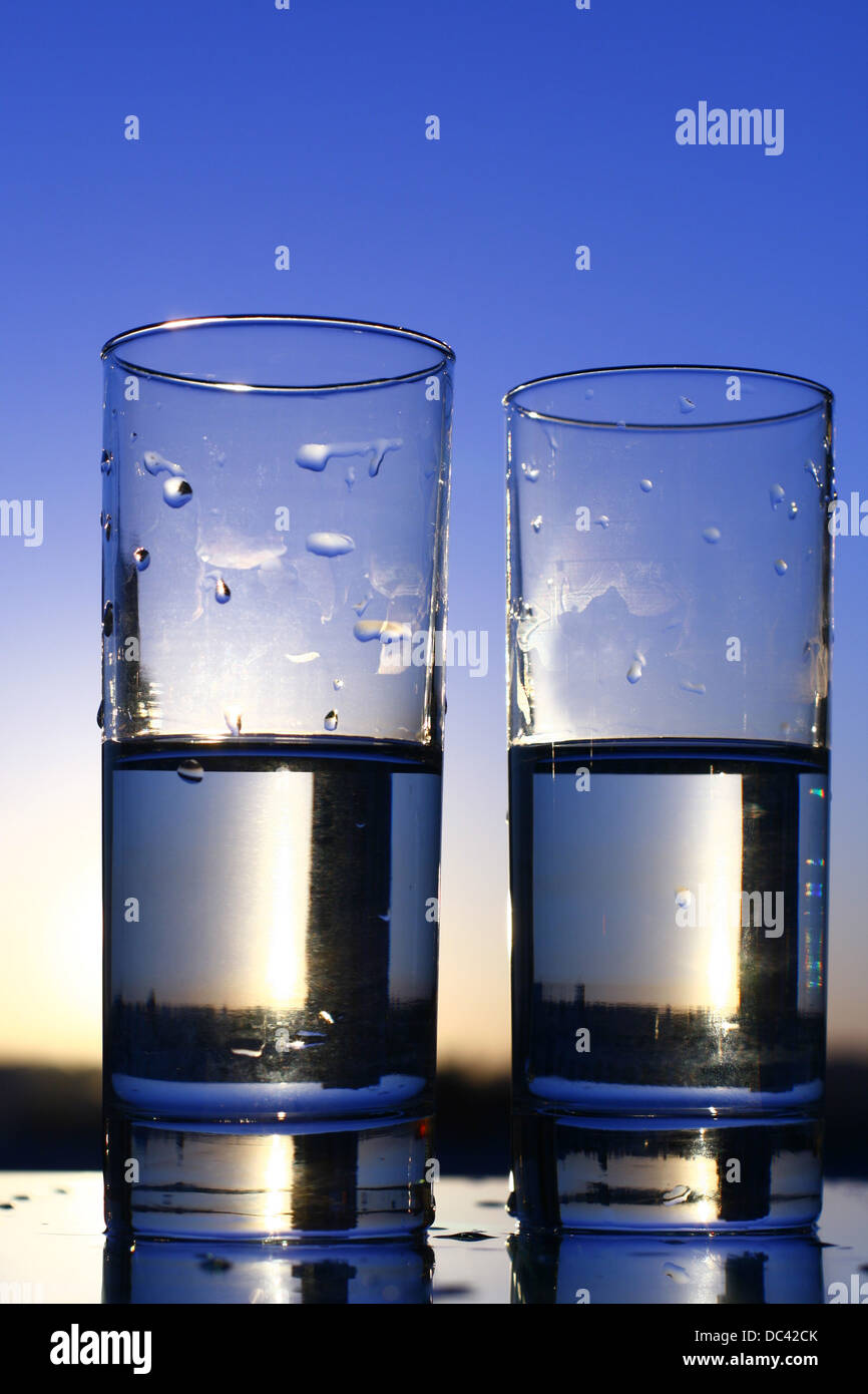 clean cold water in glass Stock Photo, Royalty Free Image ...