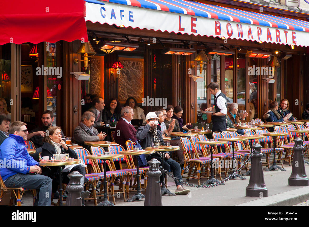 Cafe Le Bonaparte In Saint Germain Des Pres Paris France