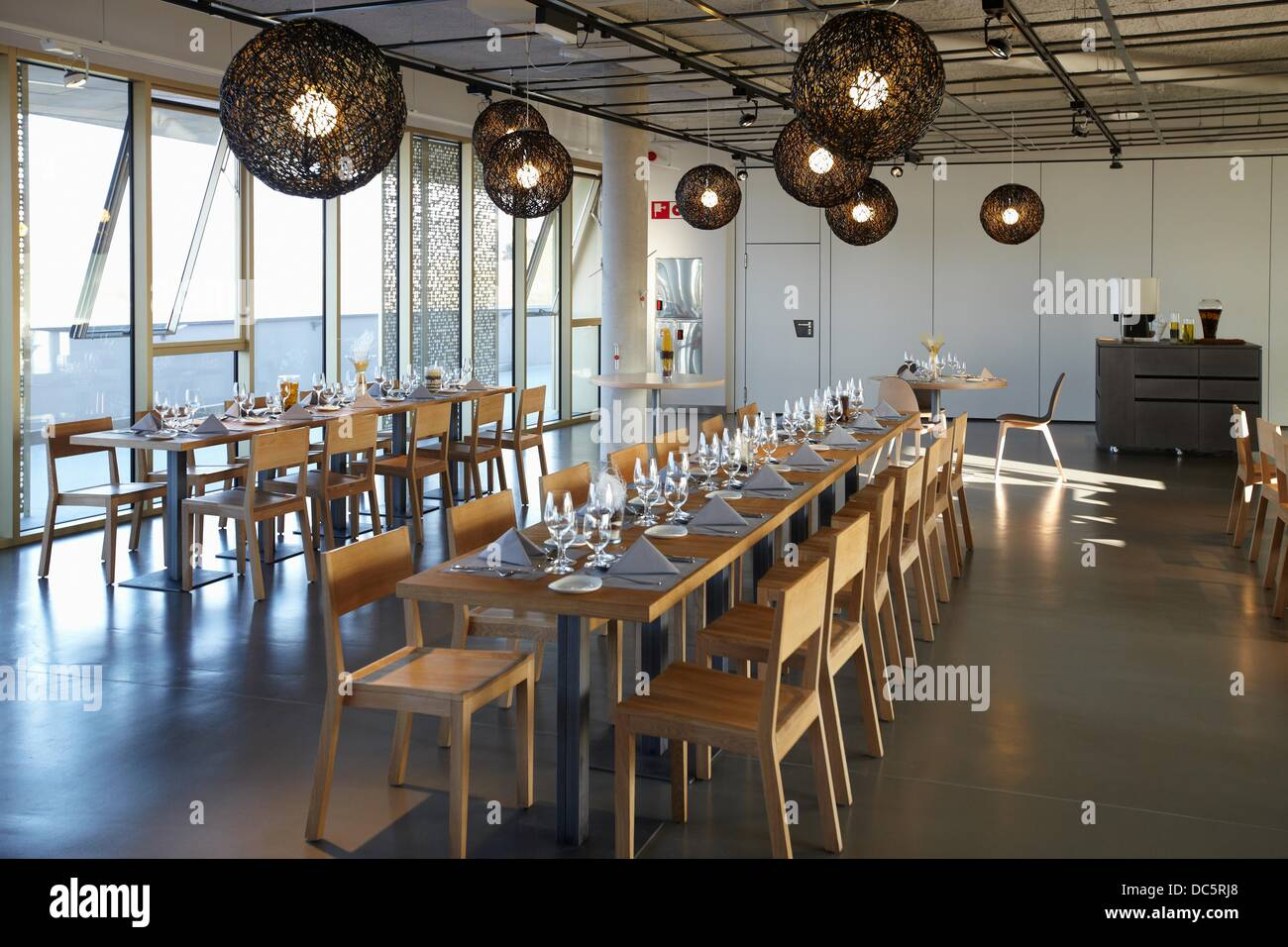 Dining room, basque culinary center, faculty of gastronomic ...