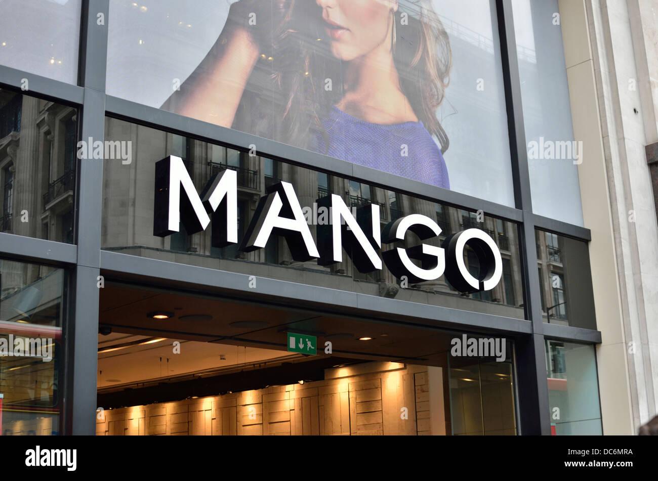 Mango clothing uk stores