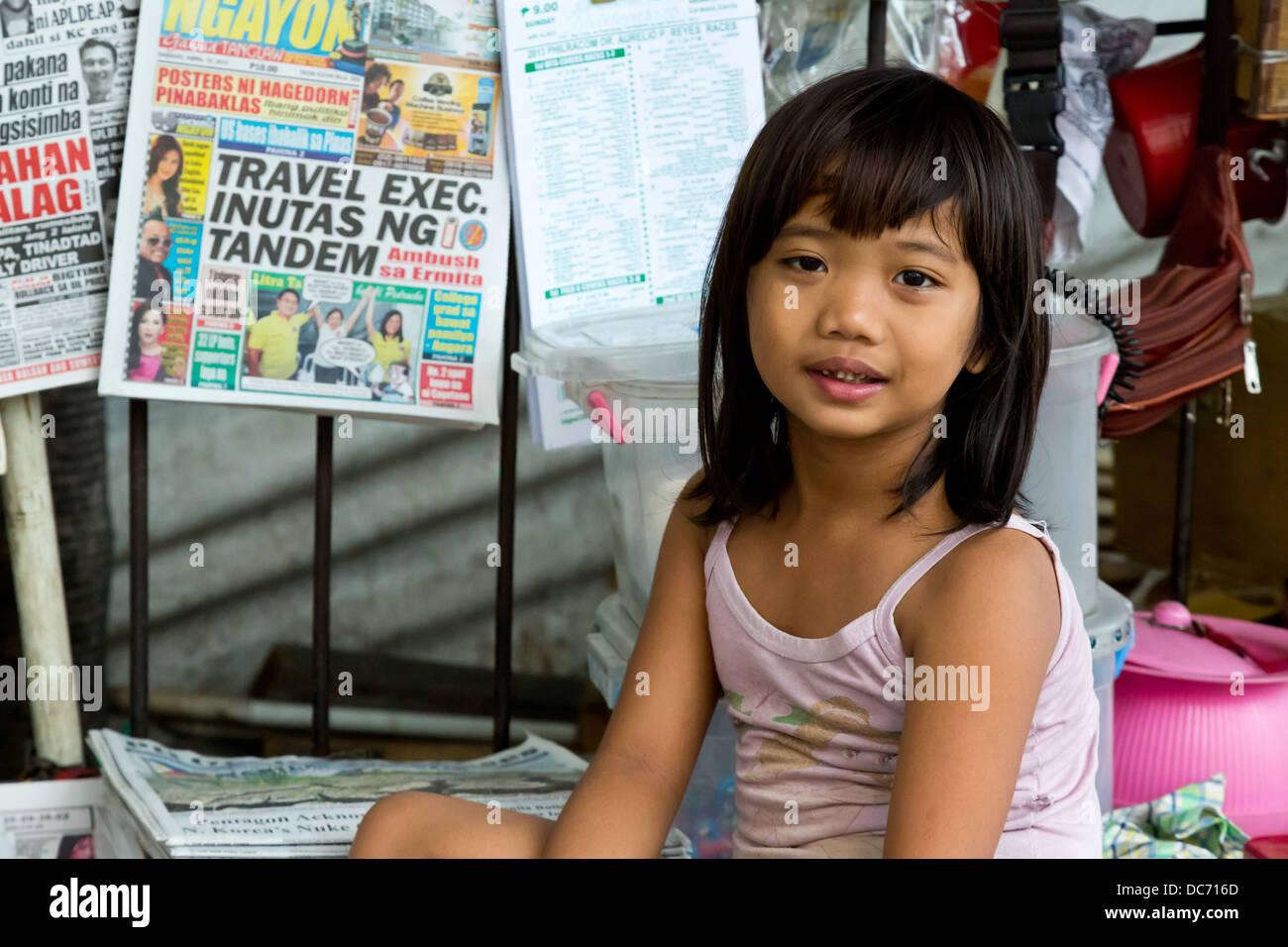 girl in manila
