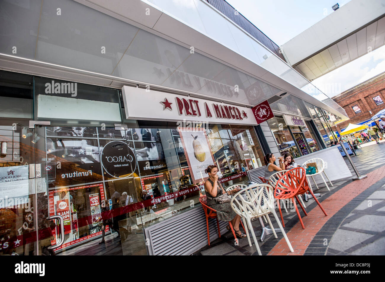 Pret A Manger Eden Walk Shopping Centre Kingston Surrey Uk Stock Pret A Manger Eden Walk Shopping Centre Kingston Surrey Uk DCPJ Stock Photo Pret A Manger Eden Walk Shopping Centre Kingston Surrey Uk