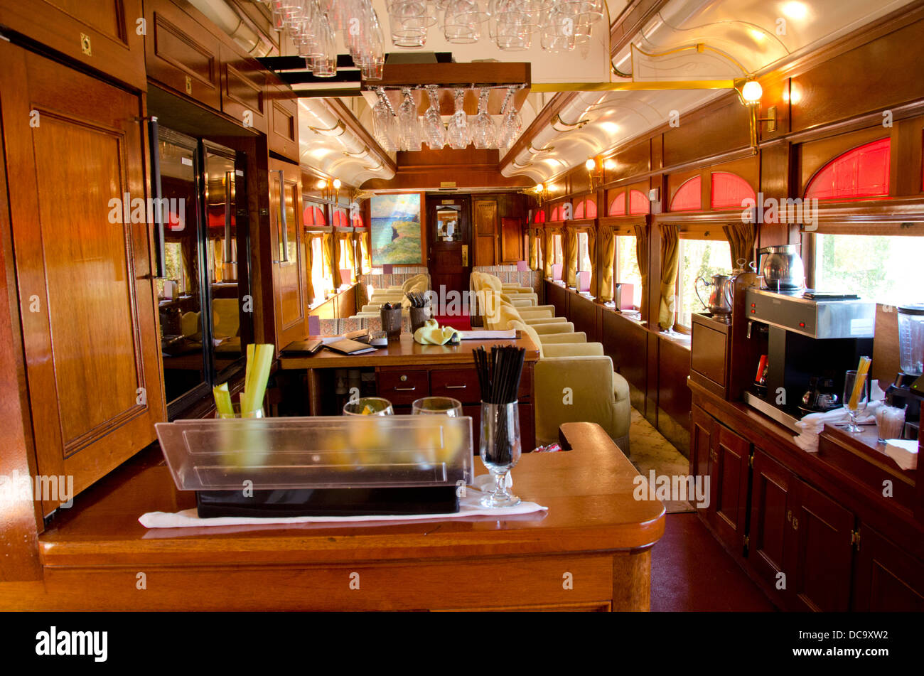 california napa valley wine train historic vintage rail car stock photo 59225630 alamy. Black Bedroom Furniture Sets. Home Design Ideas
