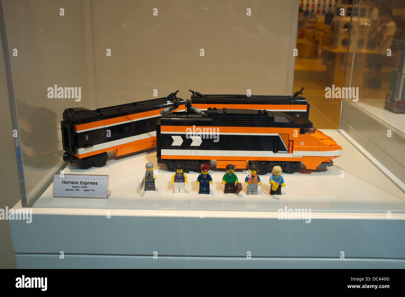 lego high speed passenger train instructions
