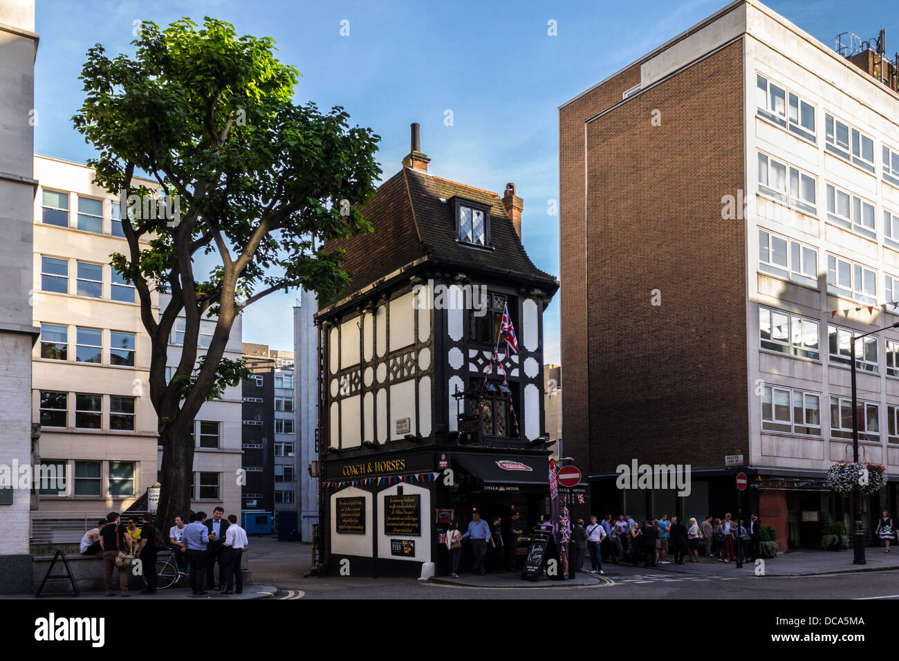 Modern Architecture Uk the coach & horses pub in mayfair, london, uk. the traditional
