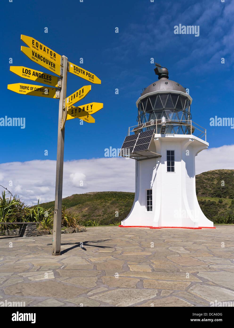 Dh Cape Reinga Lighthouse Cape Reinga New Zealand