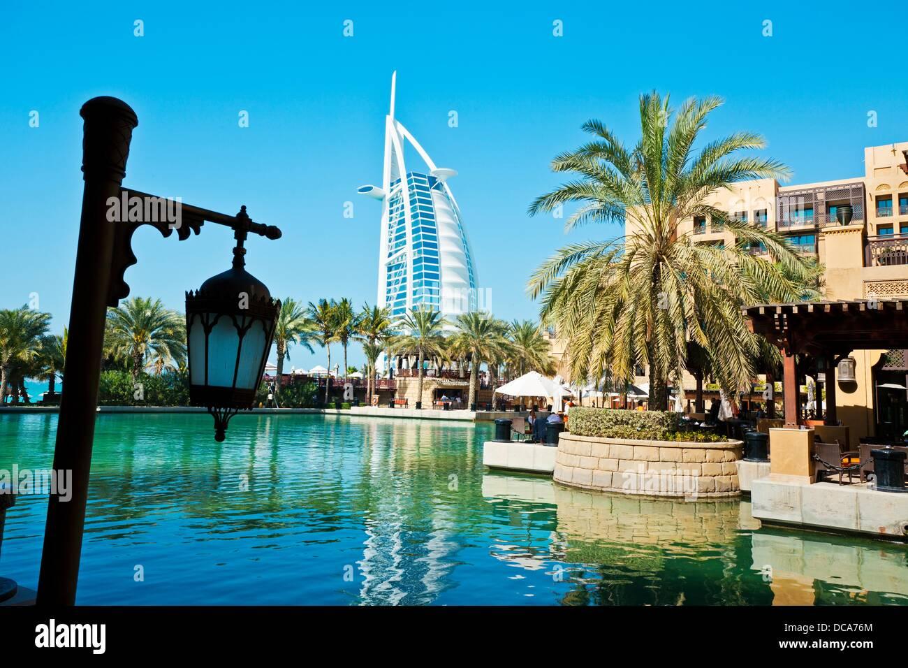 Mina A Salam Madinat Jumeirah Hotel, On The Background