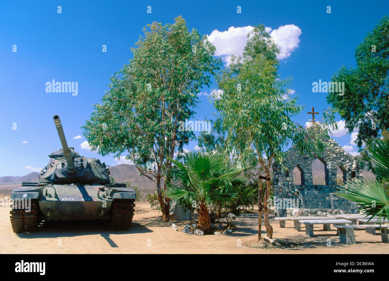 Army Tank And Christian Prayer Area General George S Patton - Christian museums in the usa