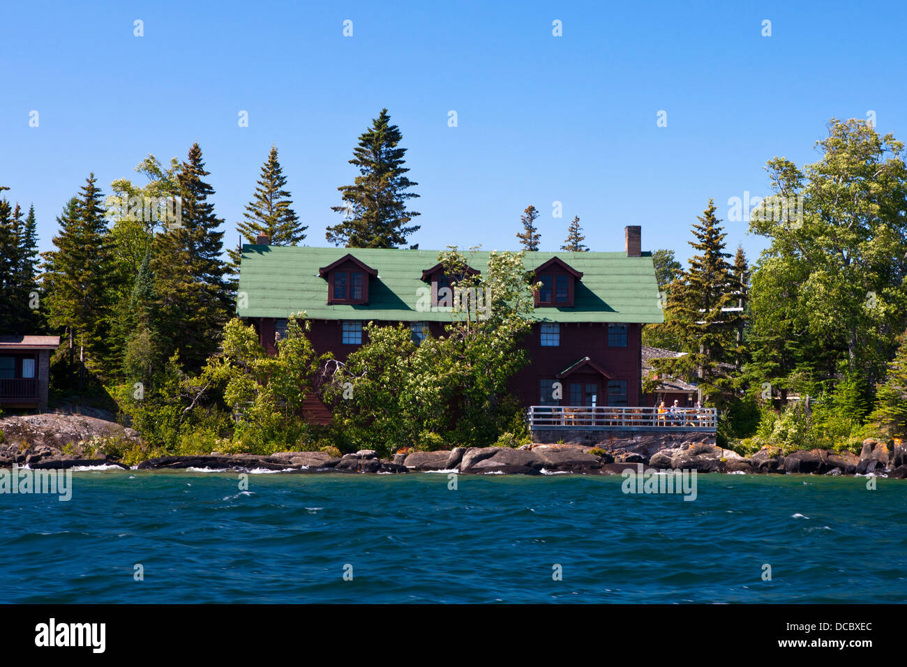 The Rock Harbor Lodge Isle Royale National Park Michigan United - National parks in michigan