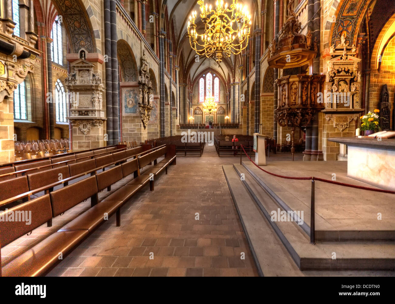 Interior of the bremer dom bremen cathedral of st peter in high stock photo royalty free - Inside mobel bremen ...