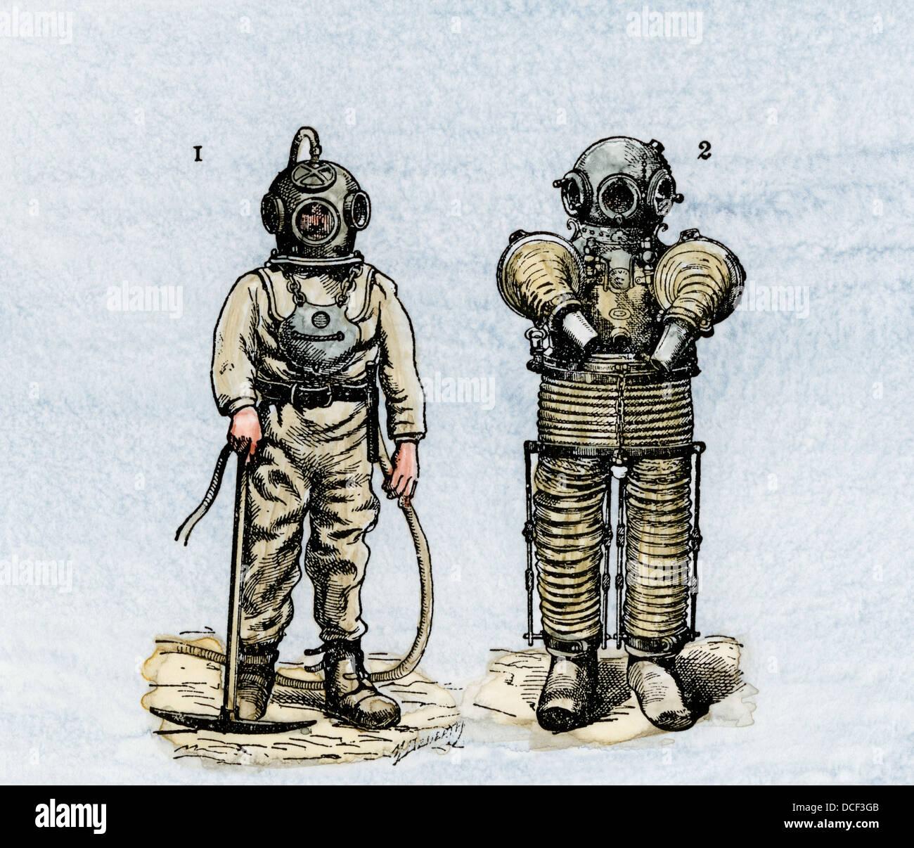 old scuba diving suit wwwpixsharkcom images
